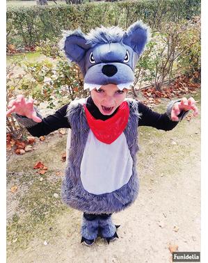 Wolf Kostüm für Jungen