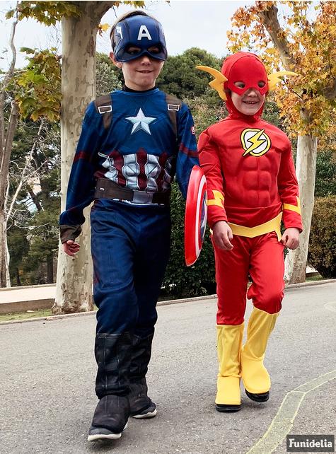 Disfraz de Capitán América Civil War deluxe para niño