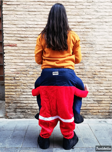 Santa Claus shoulder costume for adults