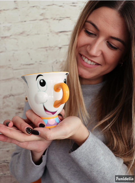 The official Chip mug from Beauty and the Beast