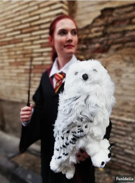 Peluche grande de Hedwig a Coruja Harry Potter 36 cm