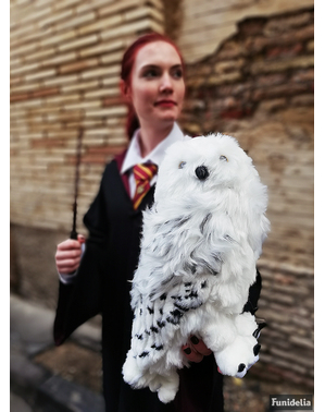 Großes Plüschtier Hedwig die Eule Harry Potter 36 cm