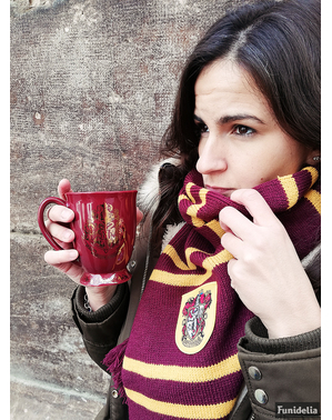 Caneca cerâmica de Hogwarts Harry Potter