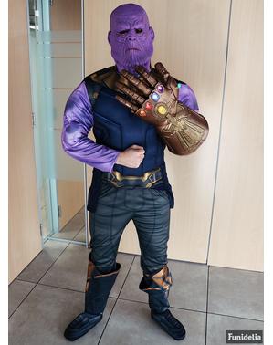 Deluxe Thanos masker voor volwassenen - Avengers: Infinity War