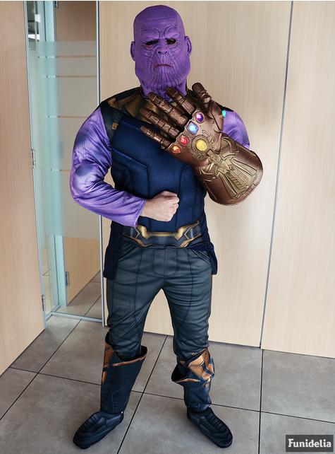 Disfraz de Thanos deluxe para hombre - Vengadores Infinity War