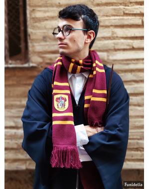 Griffing skjerf i burgunder (Offisiell Samleversjon) - Harry Potter