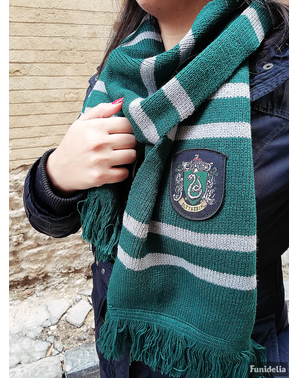 Cachecol de Slytherin (Réplica oficial Collectors) - Harry Potter