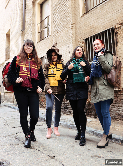 Cachecol de Slytherin (Réplica oficial Collectors) - Harry Potter