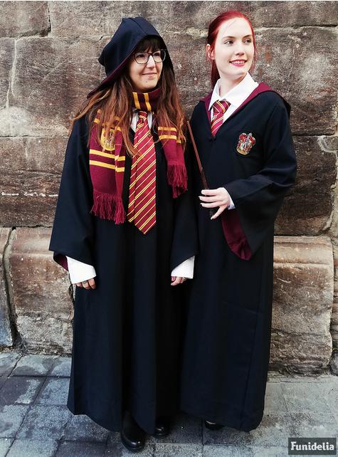 Harry Potter Griffing Deluxe tunika til voksne (offisiell samleversjon)