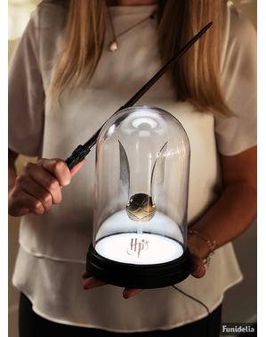 Lampada di Snitch dorata 20 cm - Harry Potter