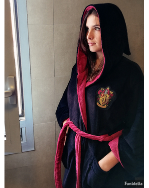 Gryffindor Fleece Bathrobe for Women - Harry Potter