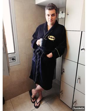 Batman fleece badjas voor mannen