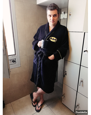 Jubah mandi batman untuk pria