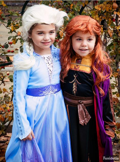 Fato de Elsa Frozen Classic para menina - Frozen 2