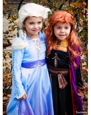 Kostým pro dívky Elsa klasický - Ledové království 2