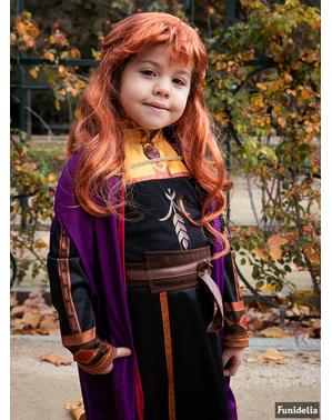 Anna Frost Maskeraddräkt för barn - Frost 2