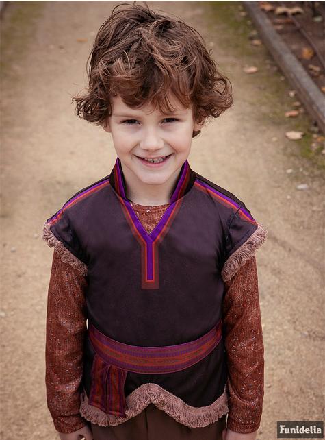 Kostým pro chlapce Kristoff luxusní - Ledové království 2