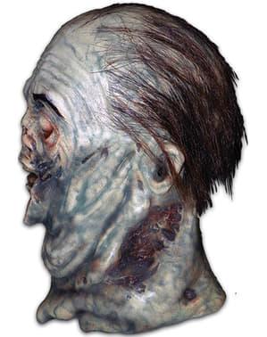 Verfaulte Zombie Maske für Erwachsene aus The Walking Dead