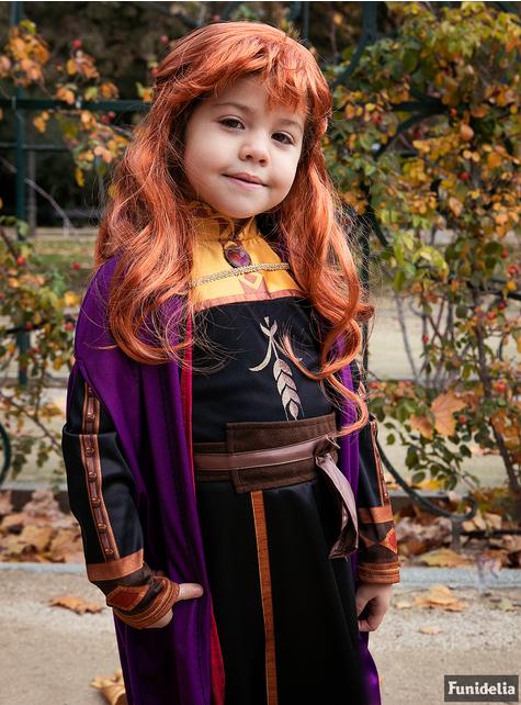 Peluca de Anna Frozen 2 para niña