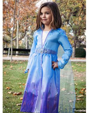 Disfraz de Elsa Frozen 2 deluxe para niña