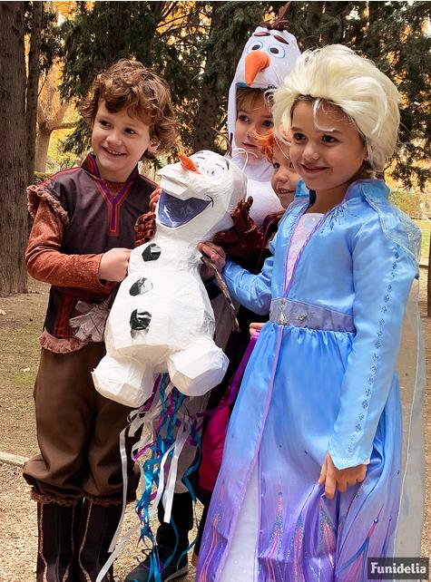 Fato de Elsa Frozen deluxe para menina - Frozen 2