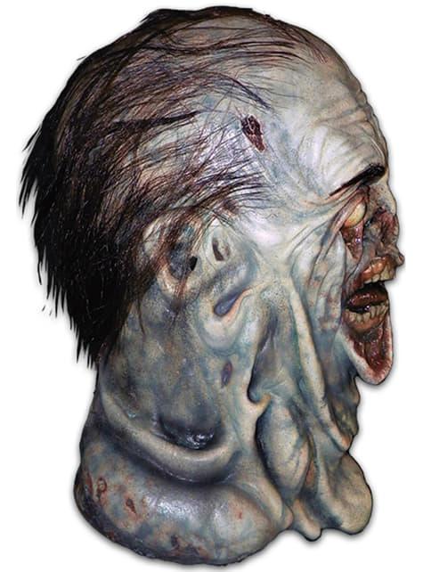 Máscara de caminhante zombie descomposto The Walking Dead para adulto