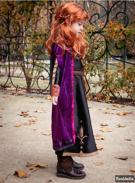 Strój deluxe Anna dla dziewczynek - Kraina Lodu 2