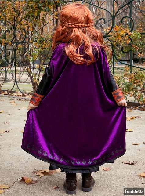 Anna Kleid  für Mädchen – Die Eiskönigin 2