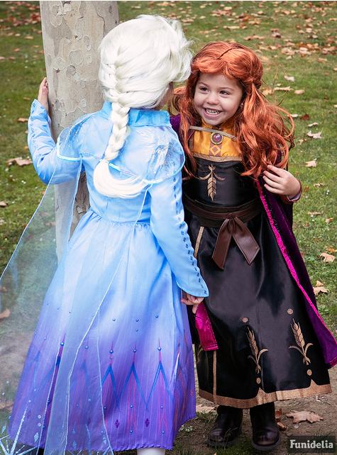 Fato de Anna Frozen deluxe para menina - Frozen 2