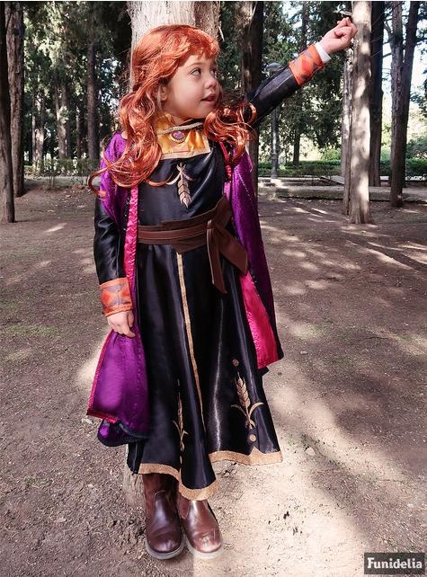 Anna Frozen deluxe costume for girls - Frozen 2