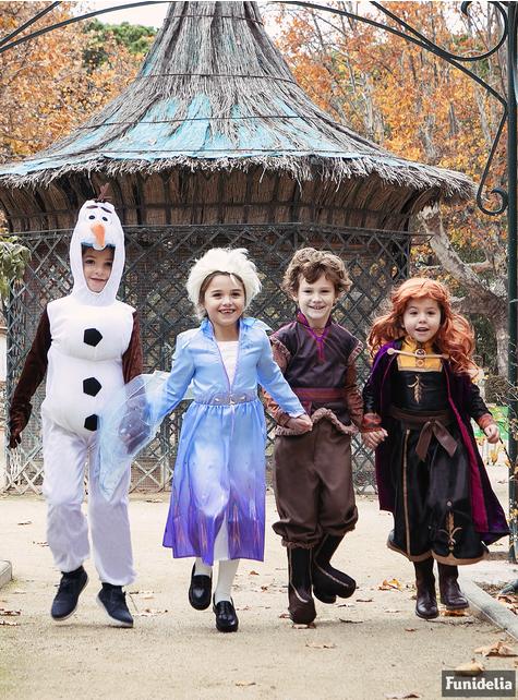 Disfraz de Anna Frozen 2 deluxe para niña