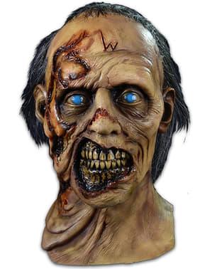Masker zombie slachtoffer van de wolven The Walking Dead voor volwassenen