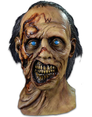Възрастен вълк жертва зомби ходене мъртъв маска