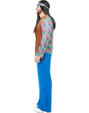 Costum hippie pentru bărbat mărime mare