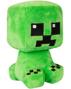 Peluche Minecraft Creeper 22 cm