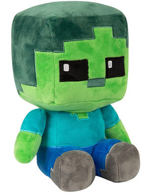 Maskotka Minecraft Zombie (22cm)