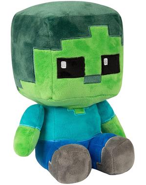 Minecraft Zombie knuffel 22cm
