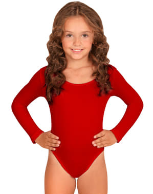 Girl's Red Leotard