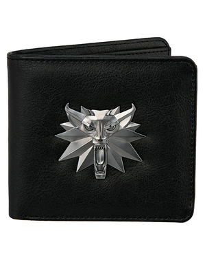 Portefeuille The Witcher loup blanc