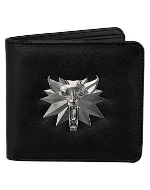 The Witcher Portemonnaie mit weißem Wolf