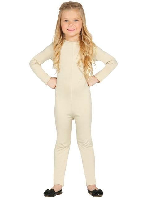Beige Bodysuit for Girls