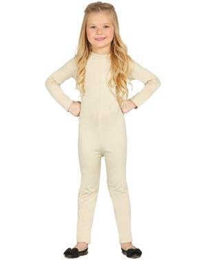 Beige Bodysuit til Piger