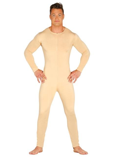 Mens skin coloured jumpsuit