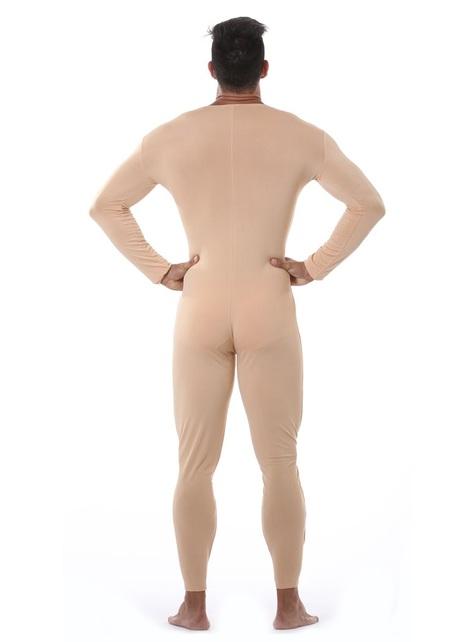 Macacão cor pele para homem