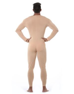 Hautfarbener Overall für Herren
