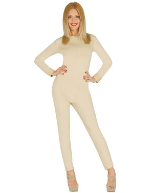 Jersey for Adult Women, Beige