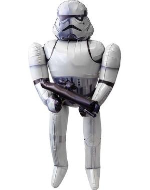 Balão de Stormtrooper Star Wars de foil (177 cm)