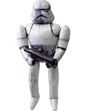 Balon Stormtrooper Star Wars de folie (177 cm)