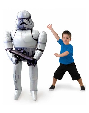Palloncino de Stormtrooper Star Wars de foil (177 cm)
