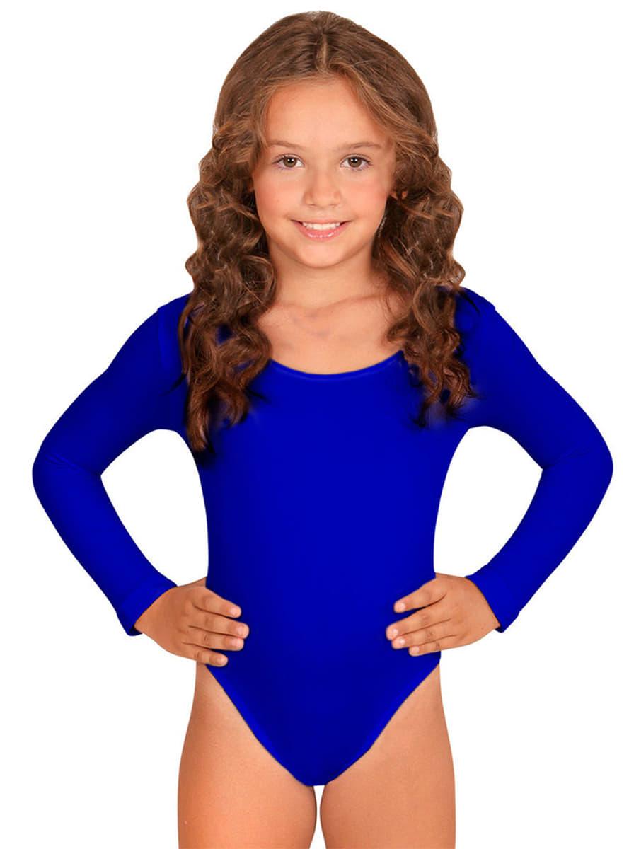Body Azul Disfraz Niña